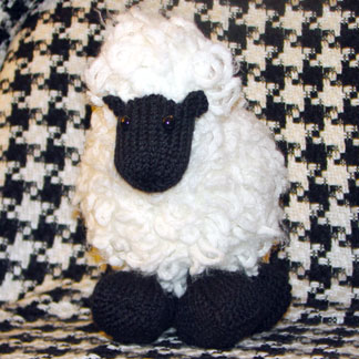 """Gritty Knits """"Woolie the Ewe"""" free knitting pattern"""